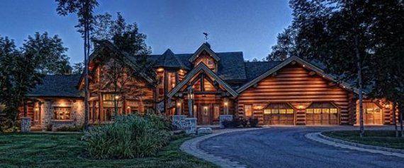 Super Chalet de rêve (en bois rond) ! juste 4,5 millions $ | Cabin  RR11