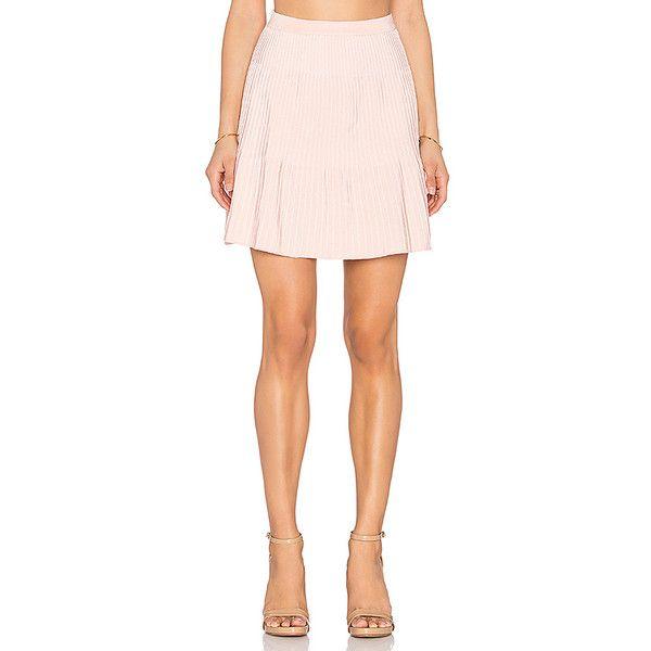 EGREY Ribbed Mini Skirt Skirts (2.485 ARS) ❤ liked on Polyvore featuring skirts, mini skirts, stretchy skirt, stretchy mini skirts, stretch skirt, mini skirt and short mini skirts