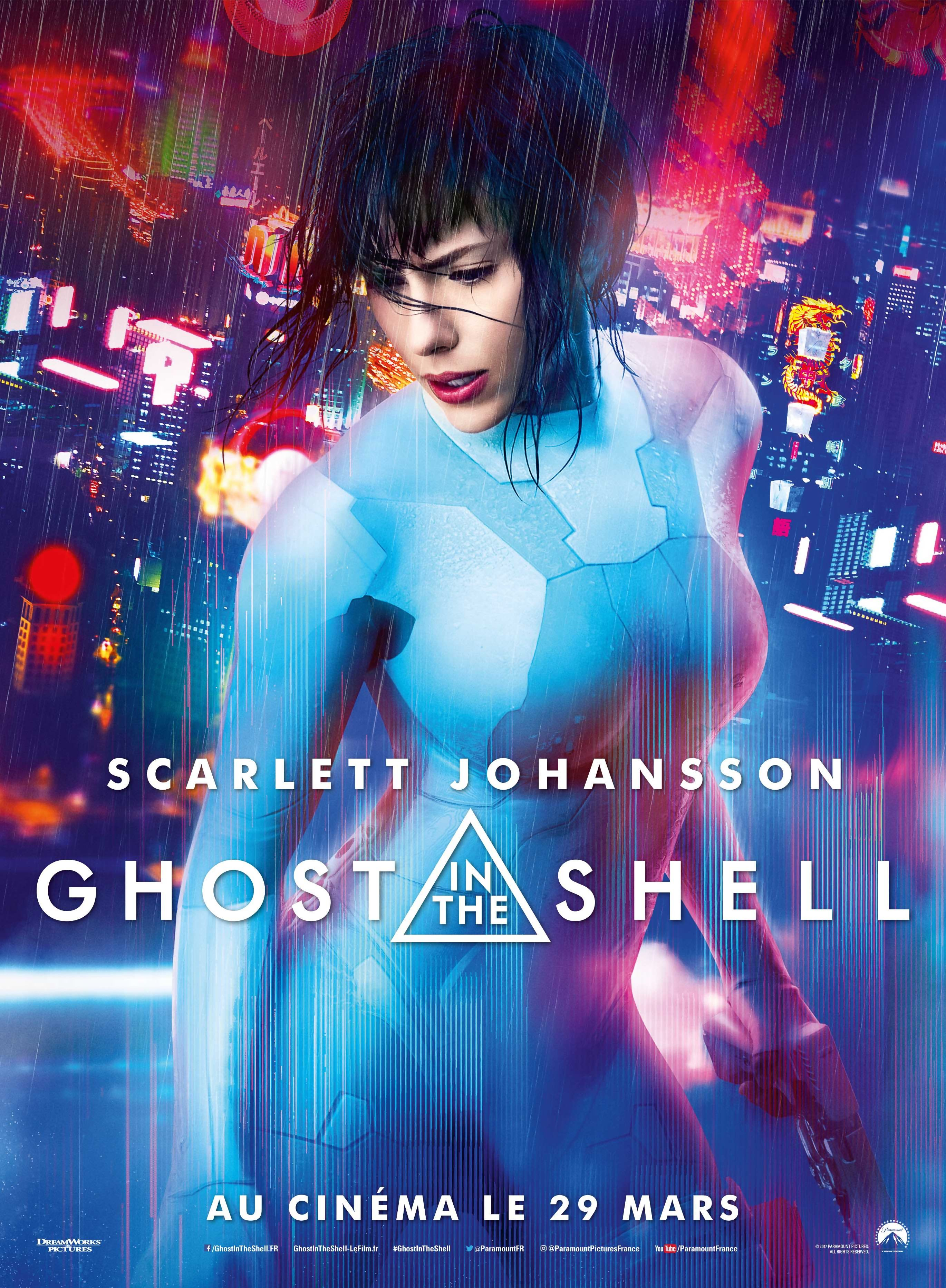 Critique Ghost In The Shell 2017 Ghost In The Shell Scarlett Johansson Ghost Scarlett Johansson