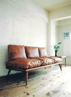 Treat leather items, such as couches and chairs, with a quality
