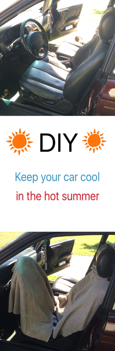 how to keep car cool