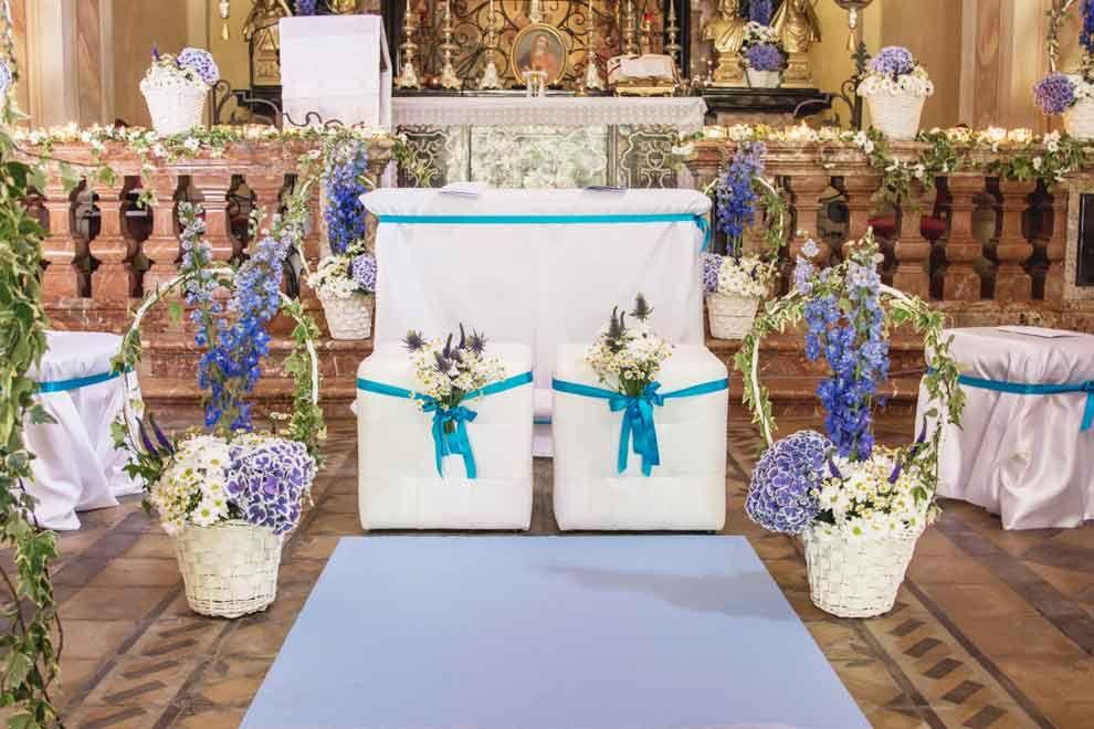 Allestimento Fiori Chiesa Matrimonio Matrimonio Wedding Planner Composizioni Floreali