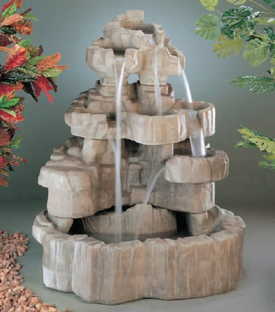Beau Jacksons Home And Garden   Large Rock Falls Fountain, Call Us For More Info  At
