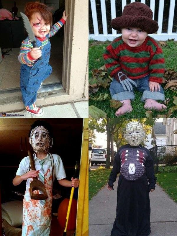 Child cosplay #horror #pinhead #chucky #leatherface #freddy krueger  sc 1 st  Pinterest & Child cosplay #horror #pinhead #chucky #leatherface #freddy krueger ...