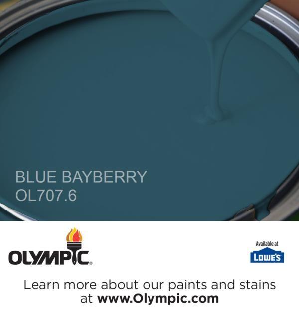 Blue Bayberry Paint Color Glidden Paint Colors Paint Colors For Home Red Paint Colors Olympic Paint
