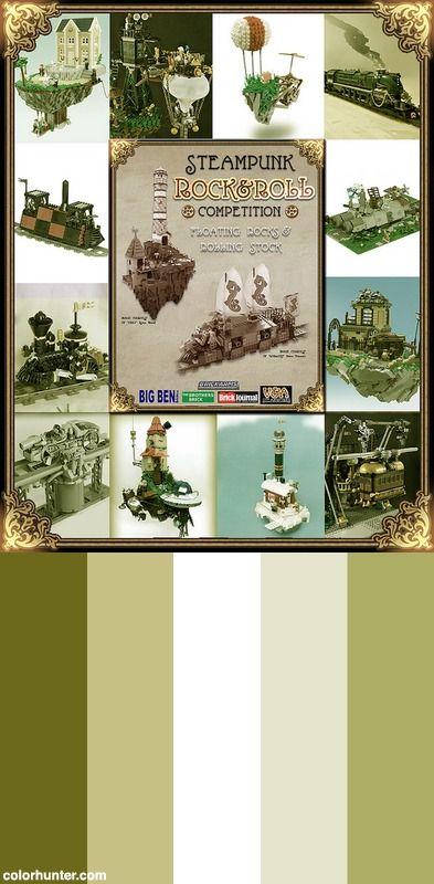 Steampunk Rock & Roll Finalists! Color Scheme