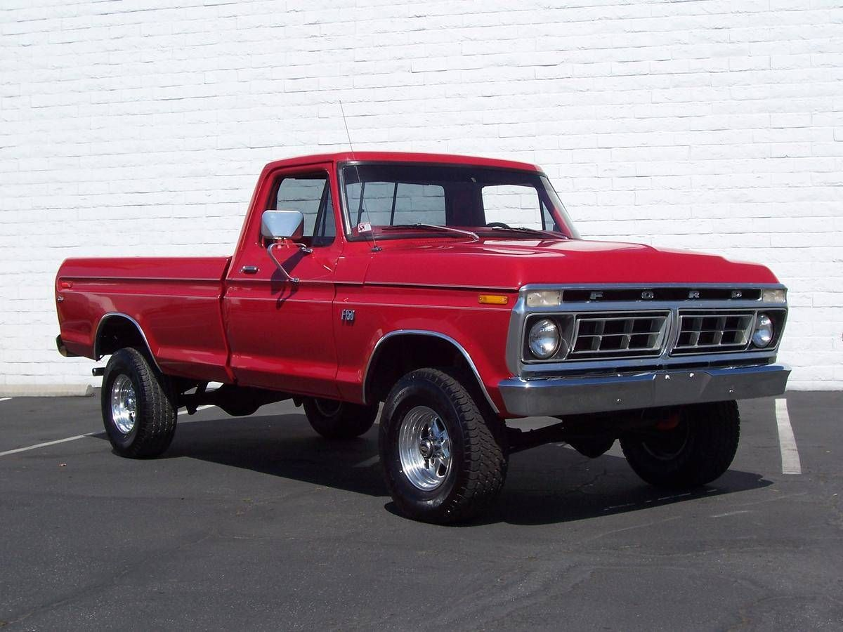 1976 Ford F150 Pickups Panels & Vans (Modified