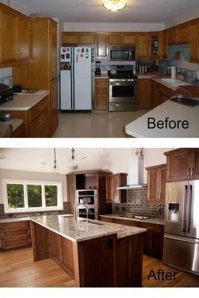 Ideas para remodelación de cocinas antes y despues (16 - remodelacion de cocinas