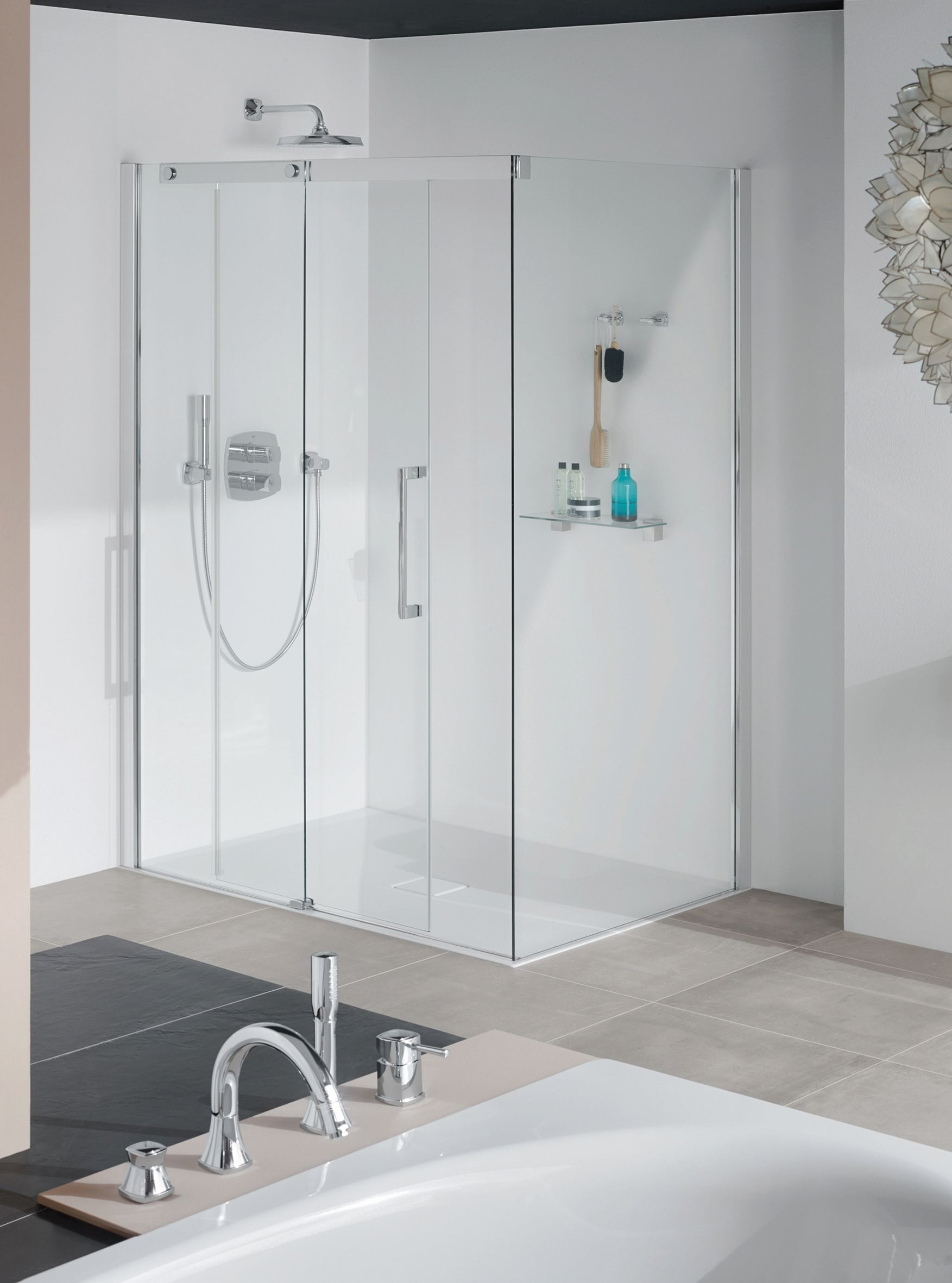 Aquatherm Black System Dusche Badideen Bathroom Und Bathtub