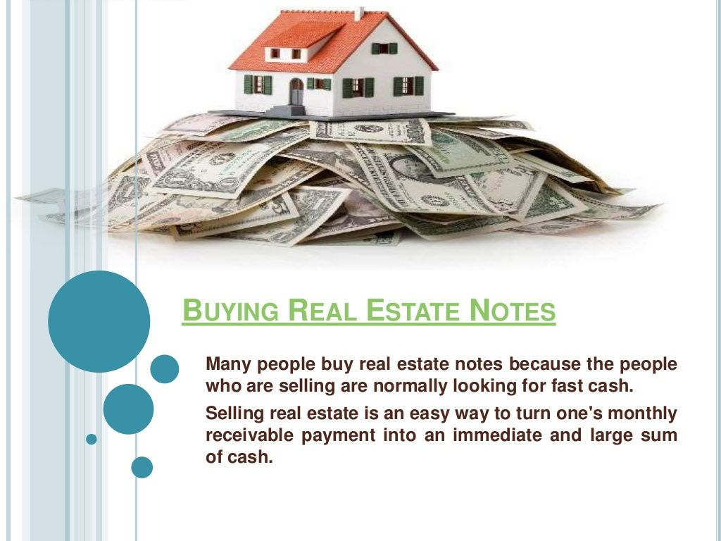 Investing In Mortgage Notes By Buyingrealestatenotes Via