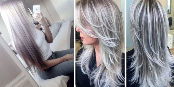 Platinum Ombre Hairstyles! Photos And Video Tutorials