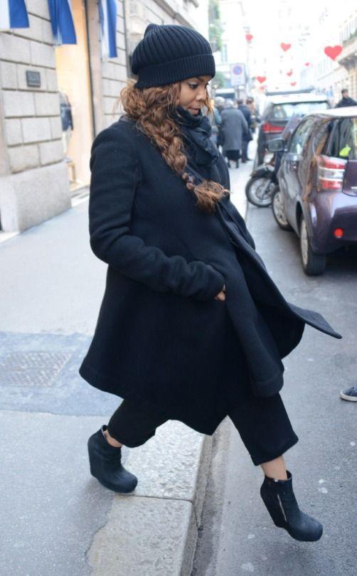 Janet in Milan (2015).