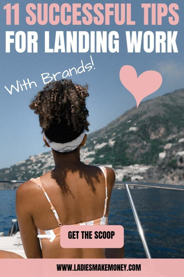 Successful entrepreneur on a boat using money made with sponsored blog work!