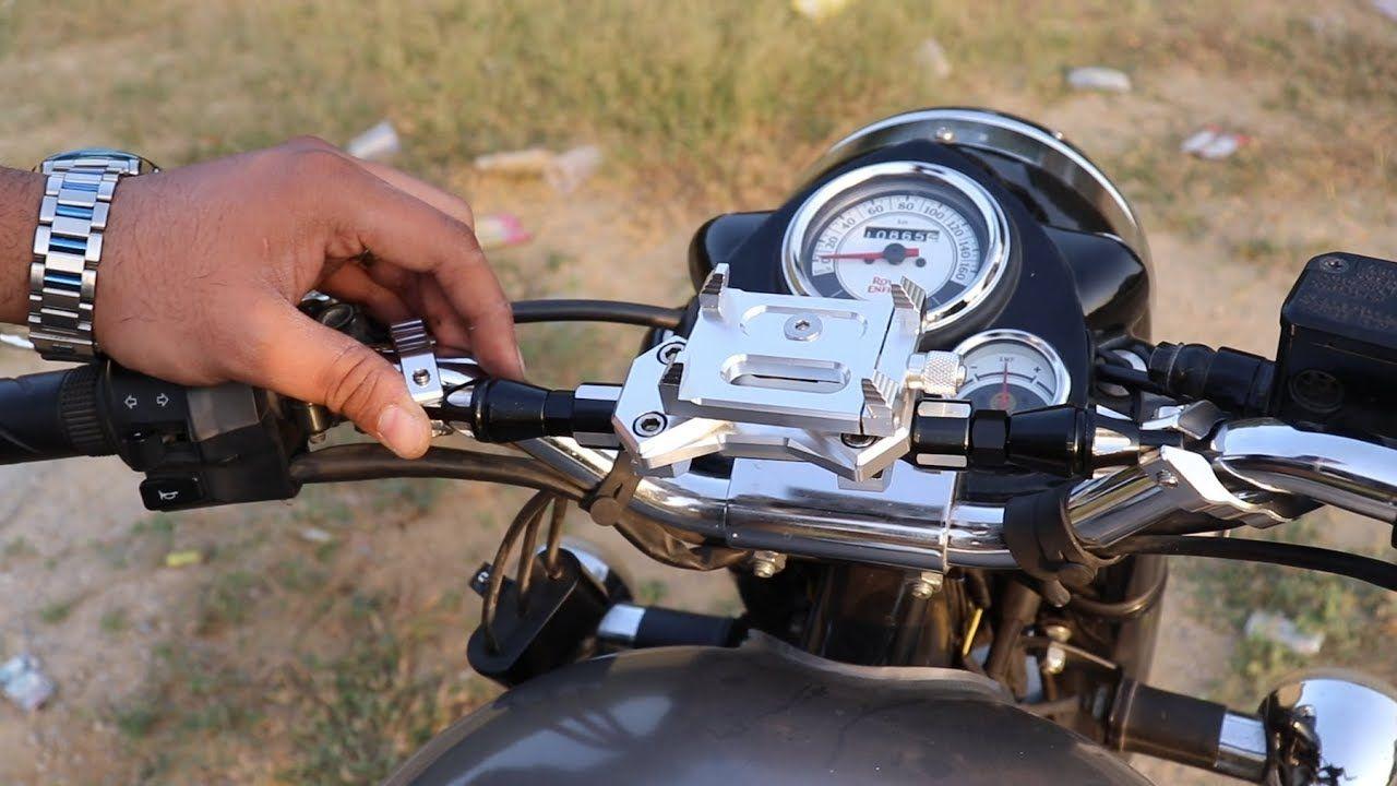 New Gadget For My Bike Vibration Reduction Rod Aluminium Mobile