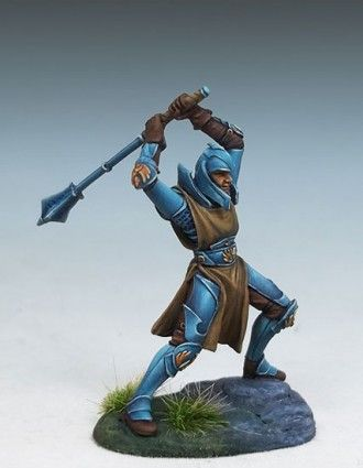 Male Cleric with 2 Handed Mace