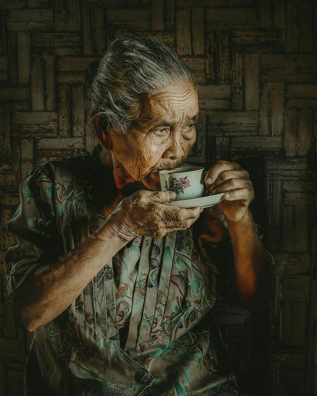 Pin oleh Risti Ernawati di Asian paintings Lukisan wajah