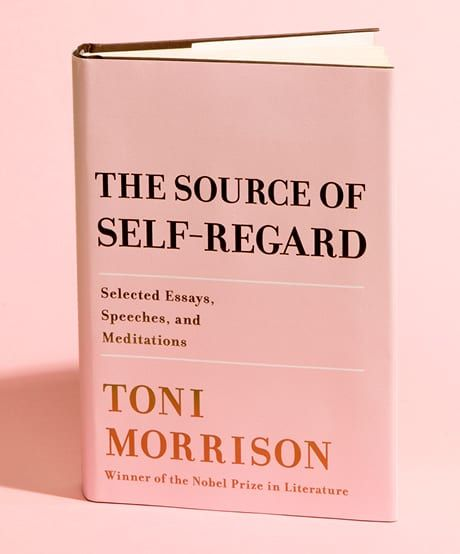The Source Of Self-Regard By Toni Morrison Your 20-Word Recap: A collection of literary master Toni Morrison's non-fiction writings about society, culture and art written throughout her career? We're in. #thekit #books #Readinglist #TheSourceOfSelfRegard #ToniMorrison