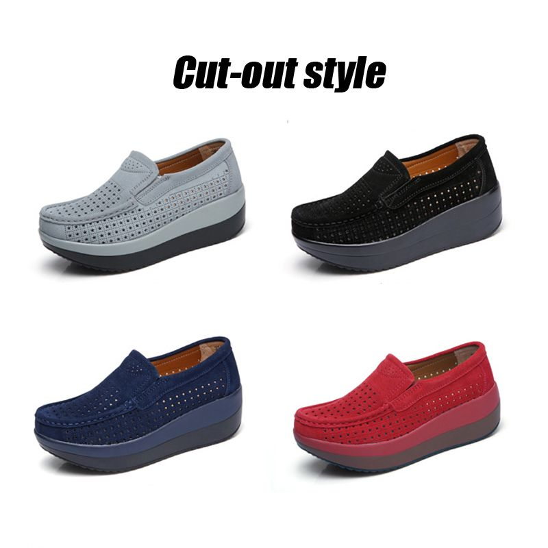 2eb7f2b656 Only $17.41 , STQ spring women flat platform loafers shoes ladies ...