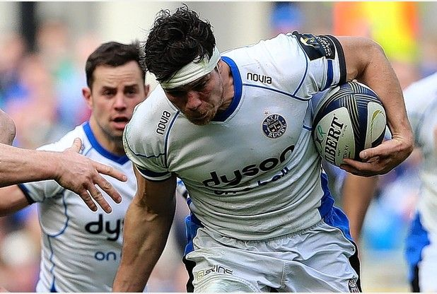 Francois Louw  is back and will captain Bath against Toulon in the European  Champions Cup at Stade Mayol tomorrow   PICTURE: PA