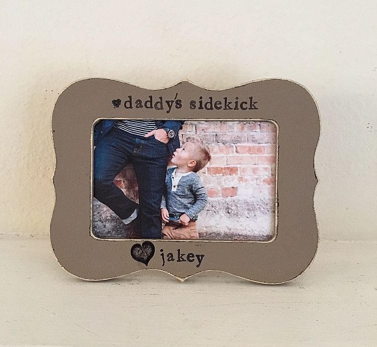 Gift for dad, Father\'s Day frame, dad picture frame, personalized ...