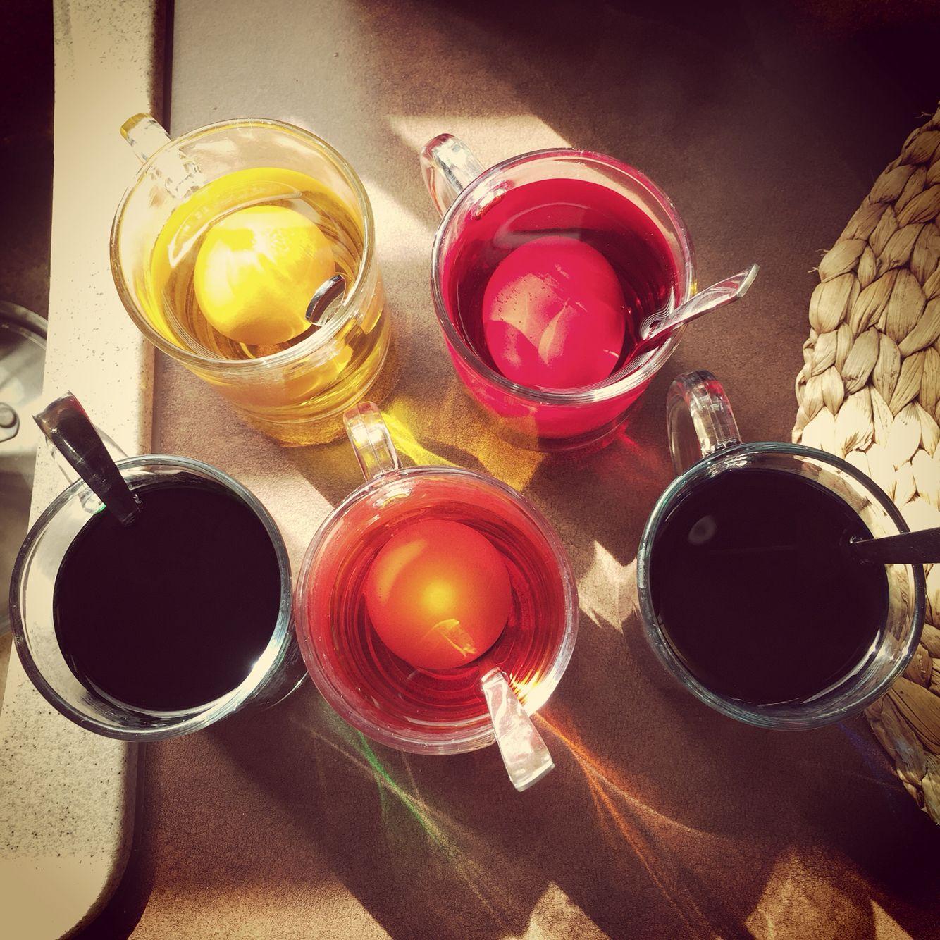 Step 1: dyeing