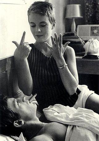 Patricia and Michel. À bout de souffle, 1959.