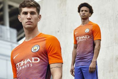 d7e3e955cc92 MANCHESTER CITY  NEW NIKE KIT FOR AWAY GAMES MAINLY CHAMPIONS LEAGUE ...