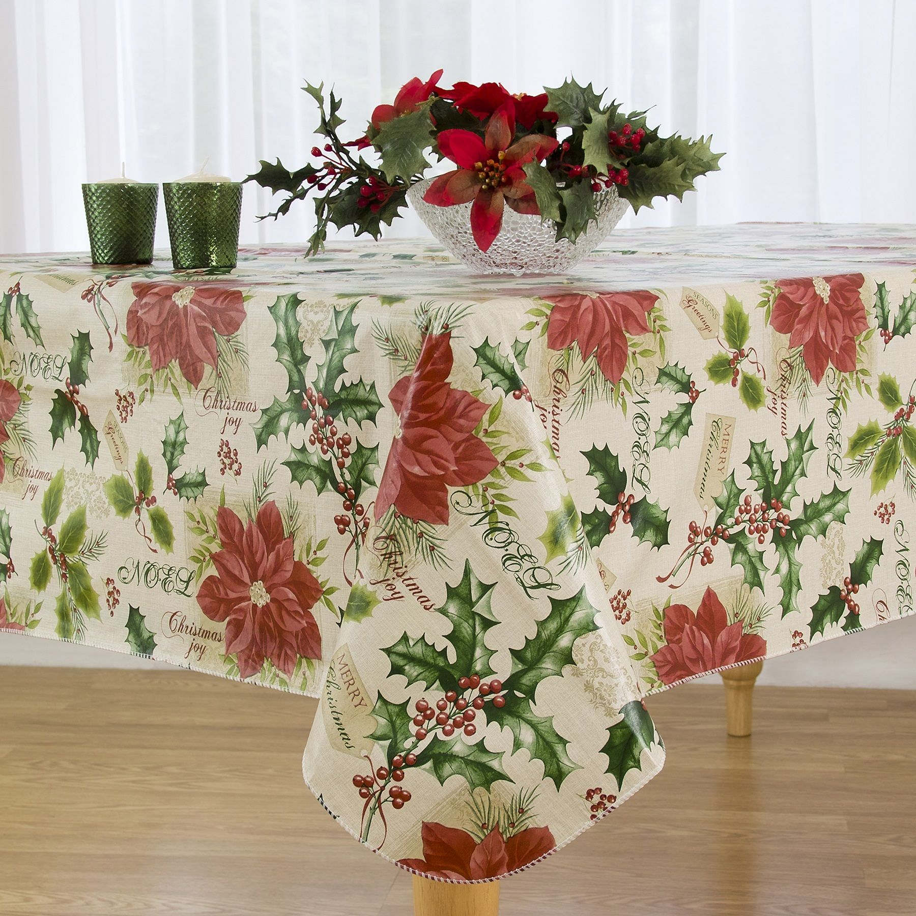 Have You Been Looking For That Perfect Holiday Vinyl Tablecloth
