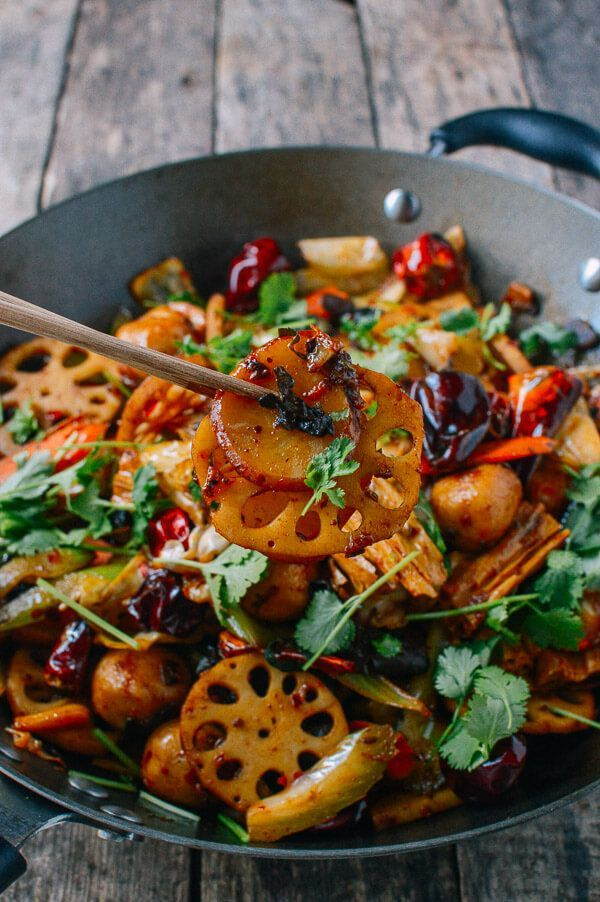 Ma la xiang guo spicy numbing stir fry pot recipe stir fry dishes forumfinder Images