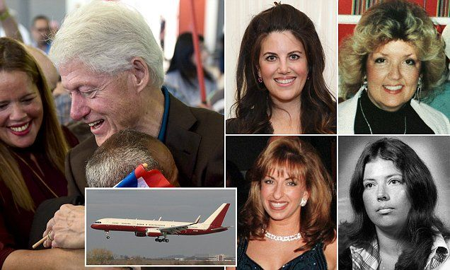 Bill Clinton is accused of sexual assault by four women