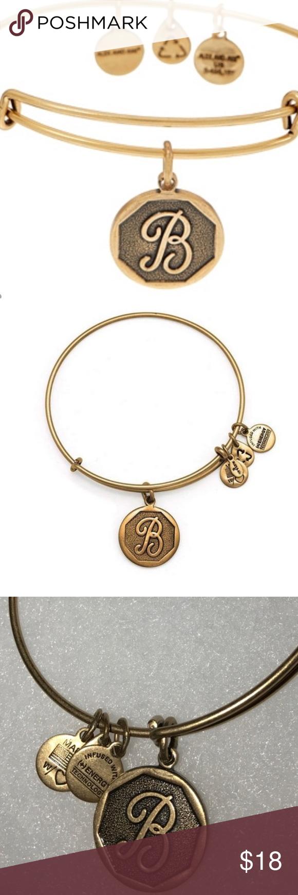 "NWT Alex and Ani Initial ""B"" bangle bracelet Alex and Ani NWT initial ""B"" bangle bracelet Alex & Ani Jewelry Bracelets"