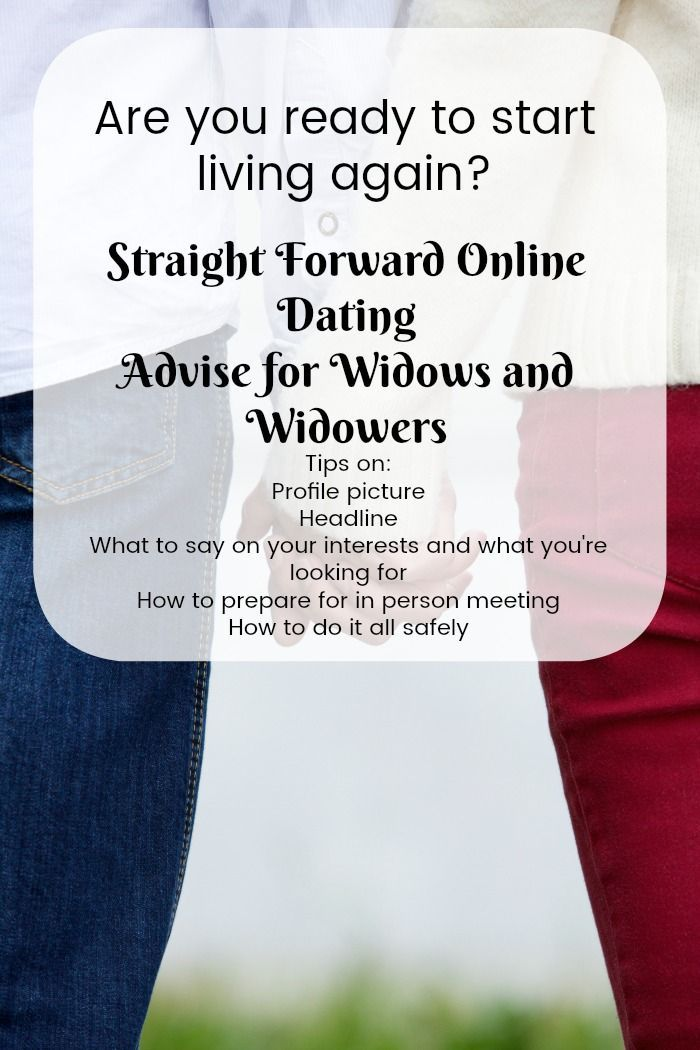 online dating for widows