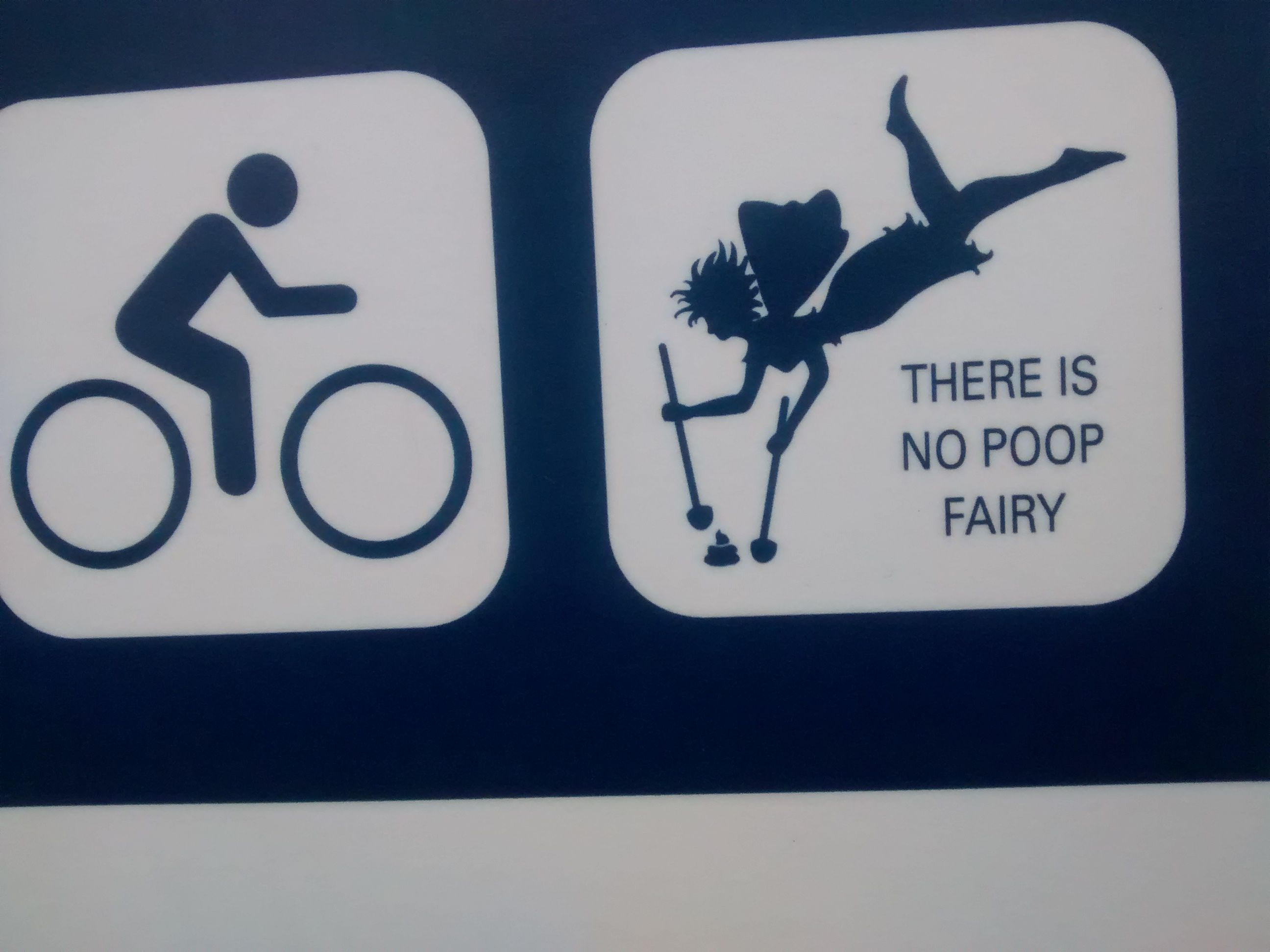 Park City Utah Trail Sign There Is No Poop Fairy Omdc