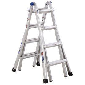 17 Ft Aluminum Multi Position Ladder Multi Ladder Telescopic Ladder Best Ladder