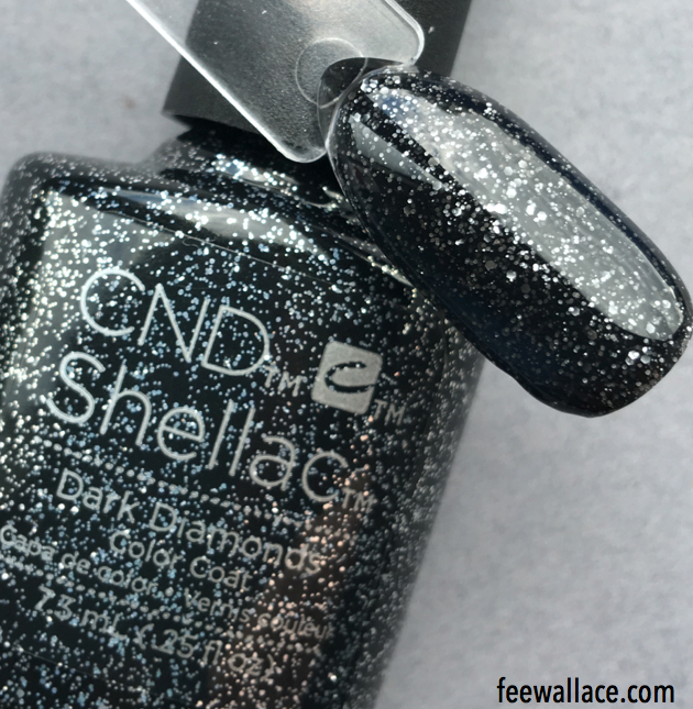 shellac dark diamonds from the cnd starstruck collection by fee ...