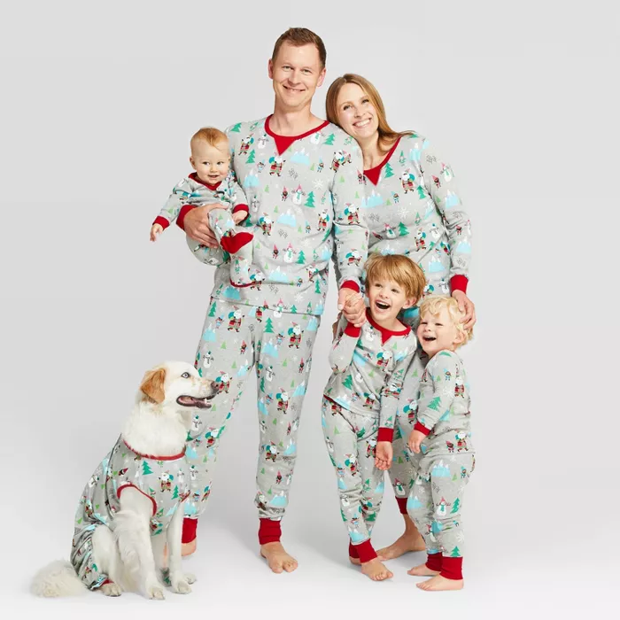 Women's Holiday Winter Wonderland Pajama Set