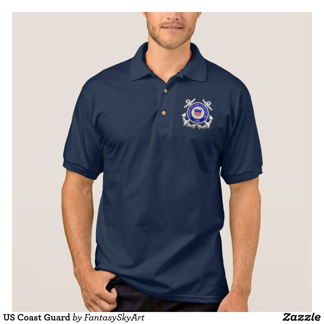 Us Coast Guard Polo Shirt United States Coast Guard Polo Shirt