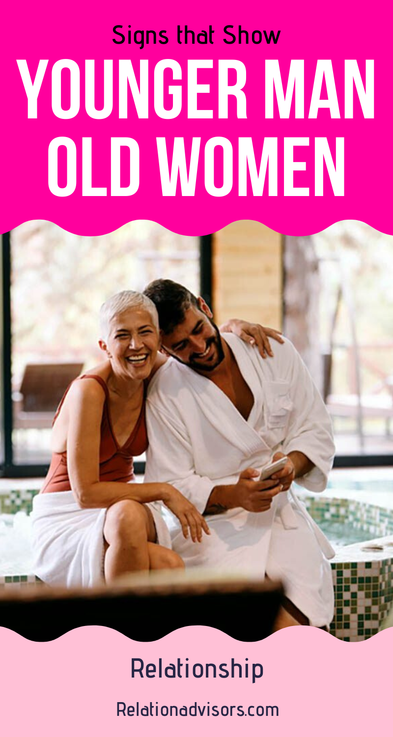 Why younger man love older woman
