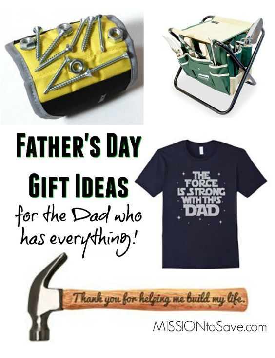 great gifts for dad who has everything