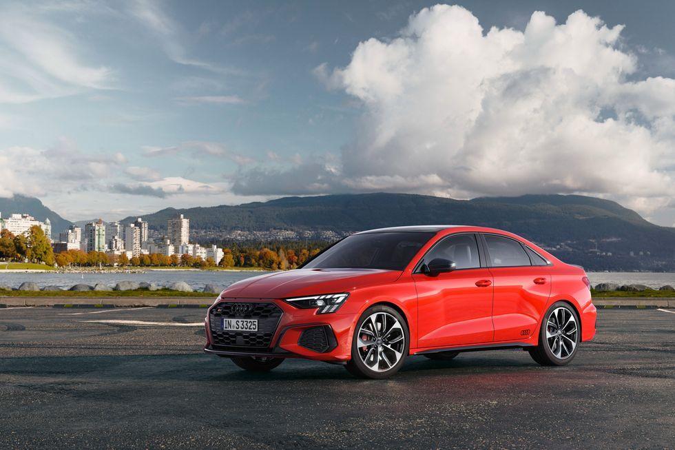 2022 Audi S3 Has Over 300 Horsepower Looks Sharp Audi Sedan Small Sedans