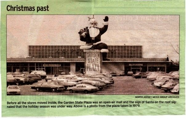 Santa At The Garden State Plaza Paramus 1979 Vintage Malls Stores Bergen County Nj