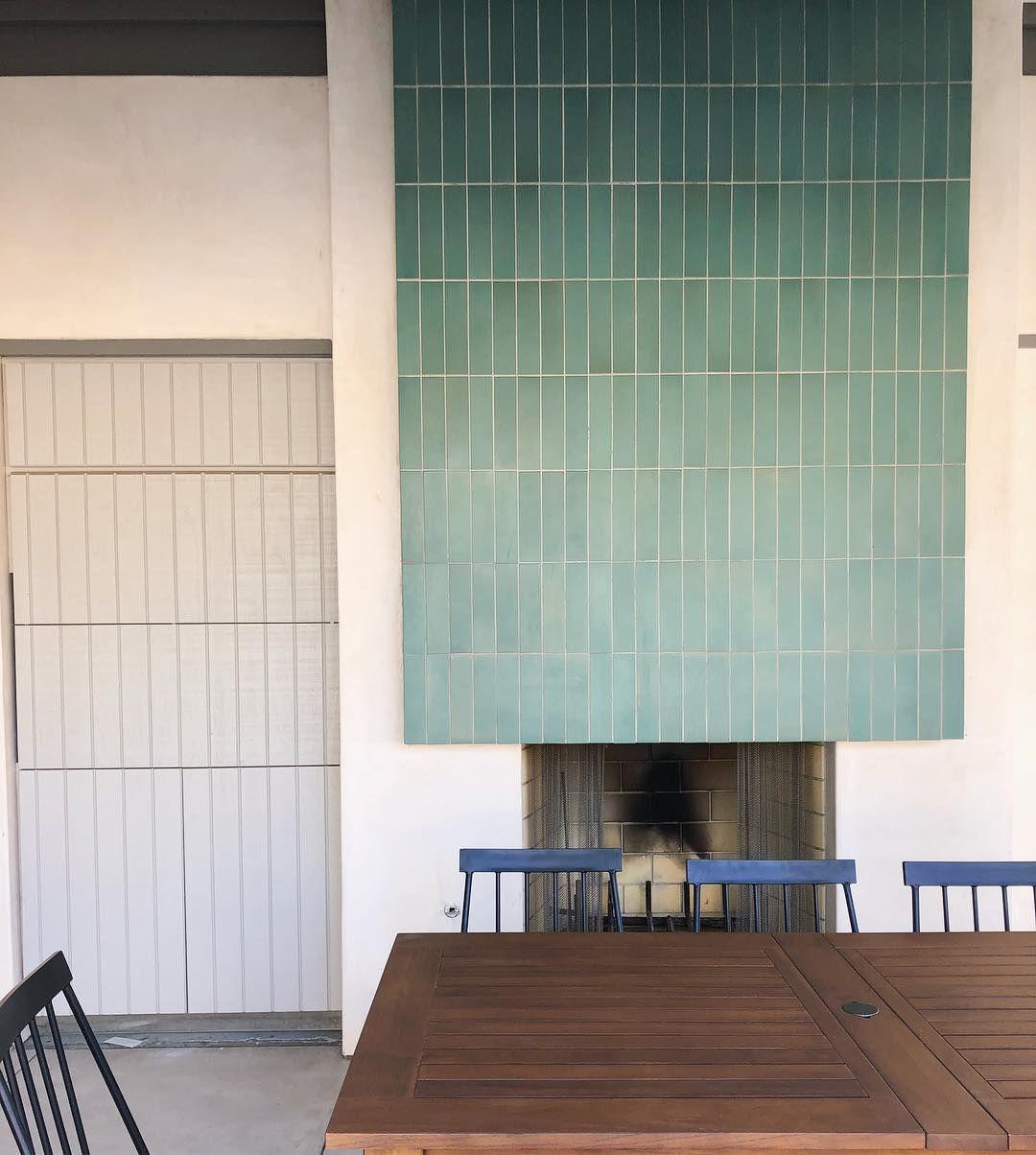 Fireplace Inspiration Heath Ceramics Tile Fireplace Design Fireplace Tile