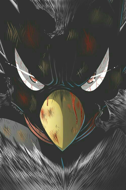 boku no hero academia, and fumikage tokoyami | Things I love it