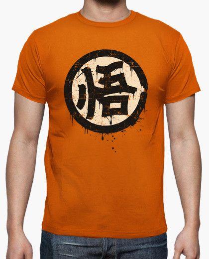 Camiseta Kanji Go Sabiduria Dragonballz Manga Anime Japon Goku Camisetas Personalizadas Camisetas Camisetas Graciosas