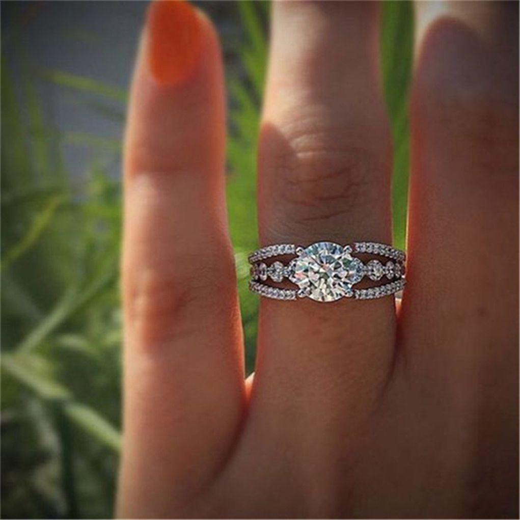 rings wedding are a deals alternative ring diamond engagement moissanite brilliant stunning
