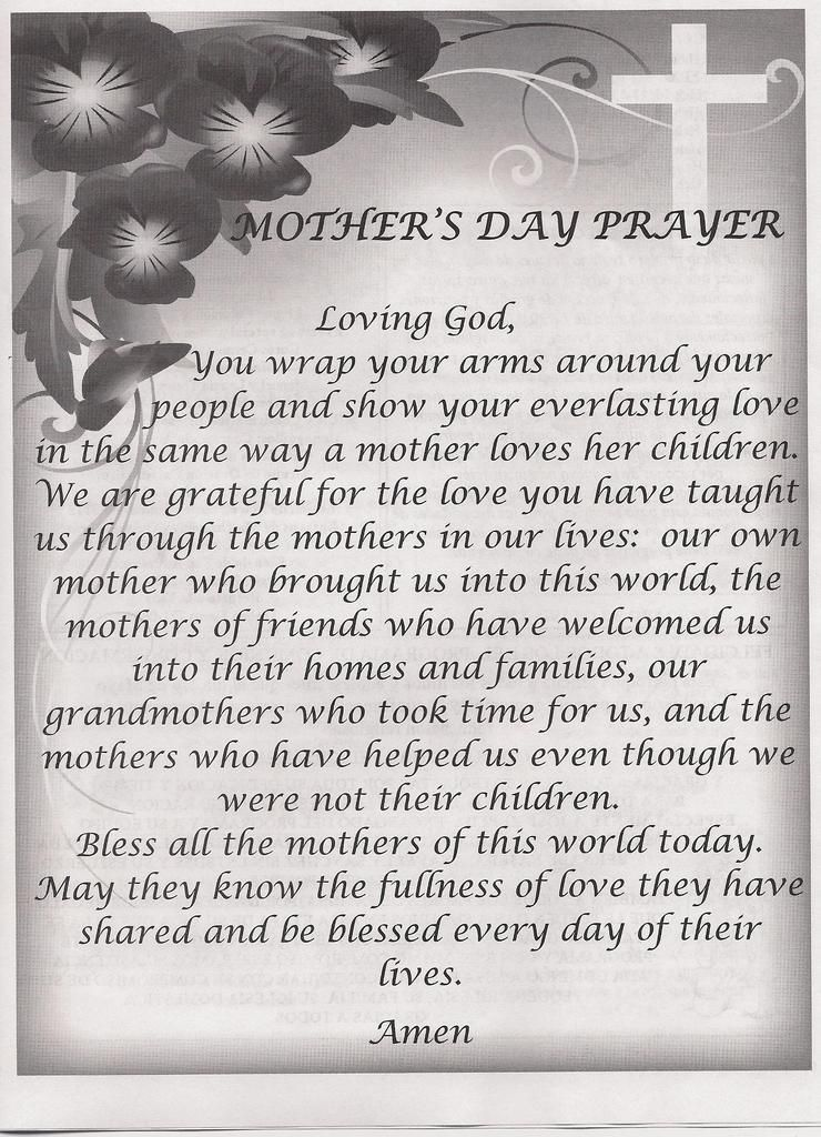 Mothers Day Poem For Christian Mothers Day Christian Poems ...