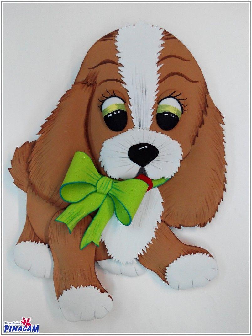 Perro realizado con goma eva por mari angeles - Con goma eva ...