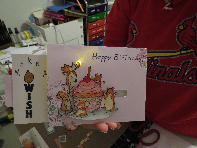 Light Up Birthday Card Tutorial