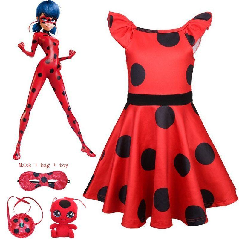 Brand New Miraculous Ladybug Child Costume