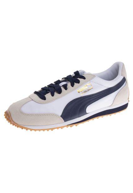 43981349438 Me encanta! Miralo! Lifestyle Puma Whirlwind Blanco-Azul Navy de ...
